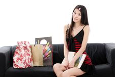 Free Asian Young Lady Stock Photography - 9910232