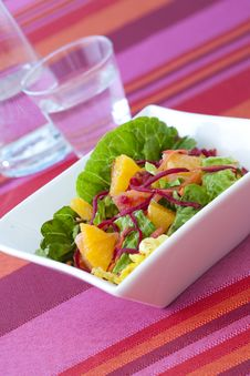 Free Fruity Summersalad Stock Photo - 9910570