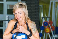 Free Smiling Bodybuilder Stock Images - 9912724