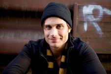 Free Beautiful Young Man Stock Photos - 9912933