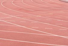 Free Running Track Royalty Free Stock Image - 9912936