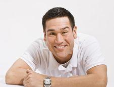 Free Happy Man Smiling At Camera Royalty Free Stock Images - 9913129