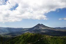 Free Volcano Landscape In Bali Indonesia Stock Photo - 9913760