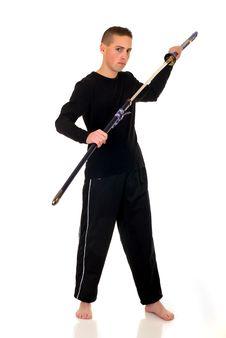 Free Samurai Royalty Free Stock Photography - 9913817