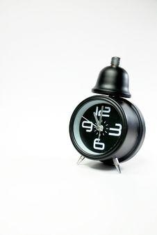 Free Black Alarm Clock Stock Photo - 9913860
