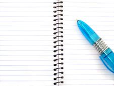 Free Pen And Notepad Stock Photography - 9914662