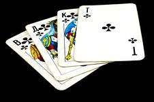 Free Playing Cards Stock Photo - 9914810