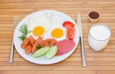 Free Served Breakfast Stock Photo - 9915600