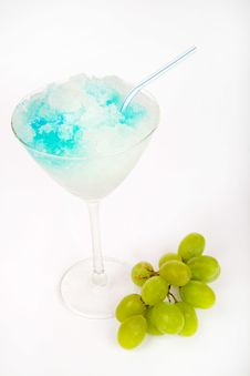 Ice Alcohol Drink Stock Image