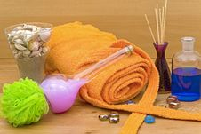 Free Accessories For The Well Being Royalty Free Stock Image - 9916376