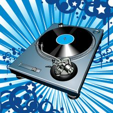 Free Turntable Royalty Free Stock Images - 9916849