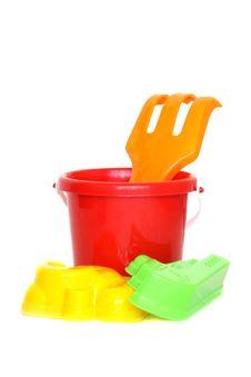 Free Sandbox Toys Royalty Free Stock Images - 9917899