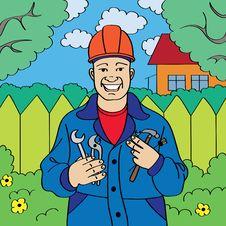 Free Workman Stock Image - 9918331
