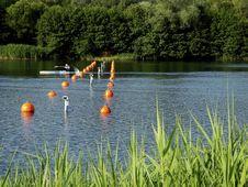 Free Kayak Race Timing Royalty Free Stock Photography - 9918507