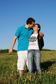 Free Young Couple Stock Image - 9918951
