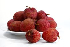 Free Fresh Lychee Series 02 Stock Image - 9919081