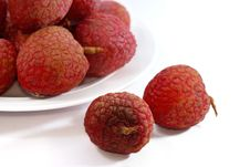 Free Fresh Lychee Series 02 Stock Photography - 9919132