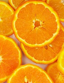 Free Orange Background Royalty Free Stock Photos - 9919538