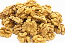 Free Walnuts Pile Stock Images - 9919934