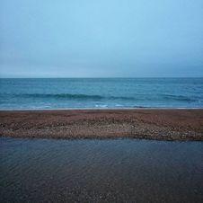 Free Empty Beach Royalty Free Stock Image - 99110406