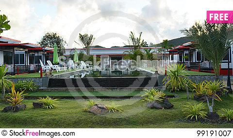 Free Resort Atmosphere Royalty Free Stock Photography - 99191007