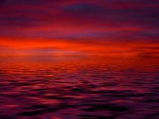 Free Red Sky At Morning, Afterglow, Horizon, Sky Stock Photos - 99192603