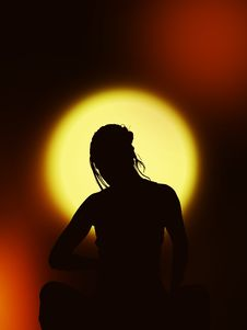 Free Silhouette, Backlighting, Computer Wallpaper, Darkness Stock Images - 99195234
