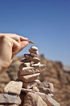 Free Rock, Sand, Sky, Hand Stock Photos - 99199723
