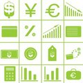 Free Set Vector Icons Stock Image - 9921511