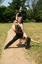 Free Couple Dancing Outdoor Royalty Free Stock Images - 9926629
