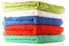Free Towels Royalty Free Stock Photo - 9922655