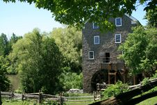 Free Old Watermill Stock Image - 9923591