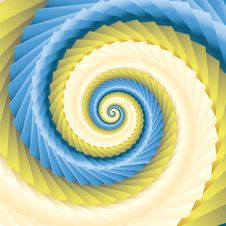 Free Color Abstract Spirals Royalty Free Stock Photo - 9924645