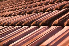 Free Old Cracked Roof Tiles Royalty Free Stock Photo - 9925445