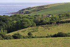 Free Cornwall Countryside Royalty Free Stock Photos - 9925458