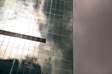 Free Sky Reflected In Building Stock Images - 9926484