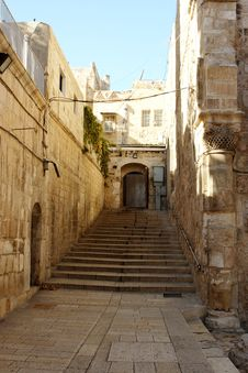 Free Old City Jerusalem Israel Stock Photo - 9926940