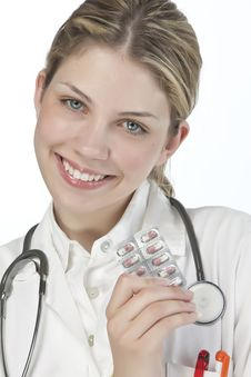 Free Beautiful Young Doctor Stock Photos - 9927063