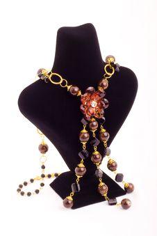 Free Elegant Necklace Royalty Free Stock Photography - 9927177