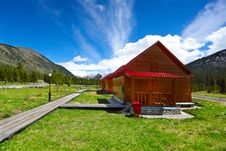 Free House In Mountains Stock Photography - 9927302