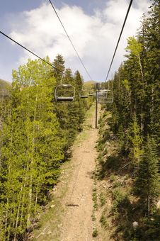 Free Ski Lift Stock Photo - 9927560