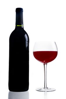 Free Red Wine Royalty Free Stock Photo - 9927735