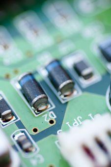 Free Electronic Detail Stock Image - 9928001