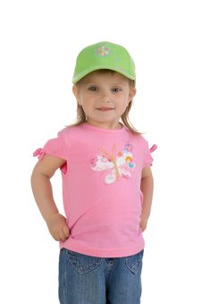 Free Cute Little Girl Stock Image - 9928041