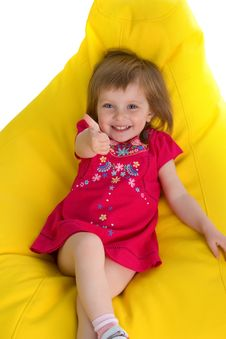 Free Well-dressed Small Girl Stock Image - 9928121