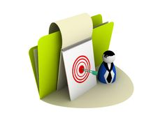 Free Right On Target Icon Royalty Free Stock Image - 9928166