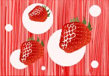 Free Strawberries Royalty Free Stock Images - 9928349