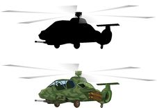 Free Armed Helicopters-material Stock Photos - 9929053