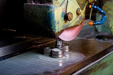 Metal Working Machinery Stock Image