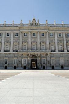 Free Palacio Real, Madrid Stock Images - 9929644